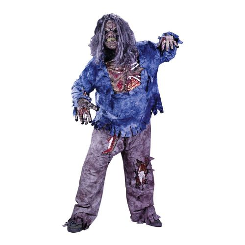 Boys B Zombie Costume (Child) Halloween Walking Dead Trick Or Treat Fancy Dress